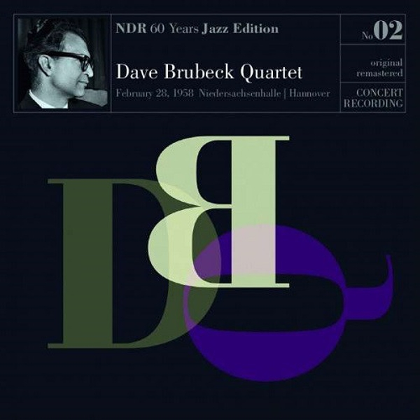 The Dave Brubeck Quartet - NDR 60 Years Jazz Edition No. 02 Vinyl