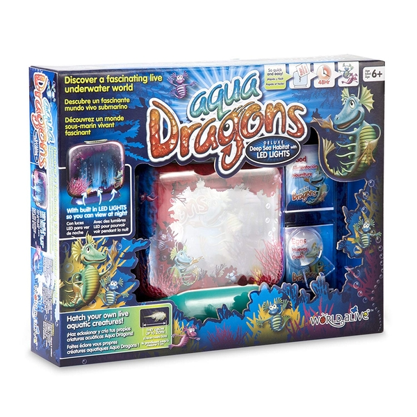 Aqua Dragons Deluxe Damaged