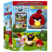 Ex-Display Angry Birds Toons: Season 1 - Volumes 1 And 2 DVD Used - Like New