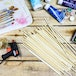Set of 50 Bamboo Dowel Rods | Pukkr - Image 2