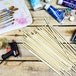 Bamboo Dowel Rods - Set of 50 | Pukkr - Image 2