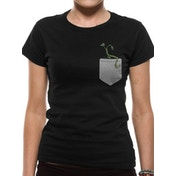 Crimes Of Grindelwald - Pickett In My Pocket Women's Large T-Shirt - Black