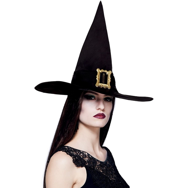 Adult Witch's Hat Black (One Size)