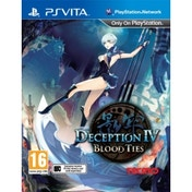 Deception IV Blood Ties PS Vita Game