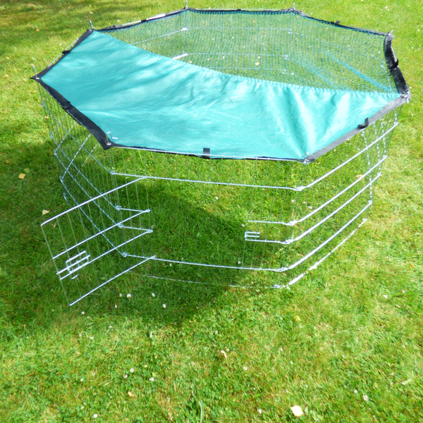Large Outdoor Pet Playpen & Net | 8 Panel Enclosure | Small/ Medium Pets | M&W - Image 5
