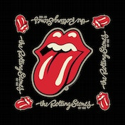 The Rolling Stones - Established 1962 Men's Bandana - Black