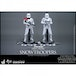 First Order Snowtroopers Twin Set (Star Wars The Force Awakens) Sixth Scale By Hot Toys - Image 3