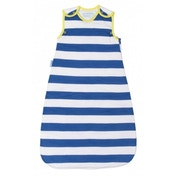 Grobag Sleep Bag - True Blue Stripes 1.0 Tog (6-18 Months)