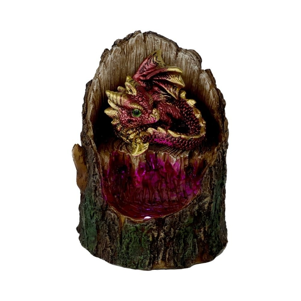 Arboreal Hatchling Red Dragon Figurine
