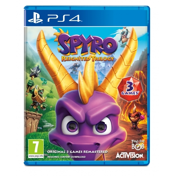 Ex-Display Spyro Reignited Trilogy PS4 Game Used - Like New