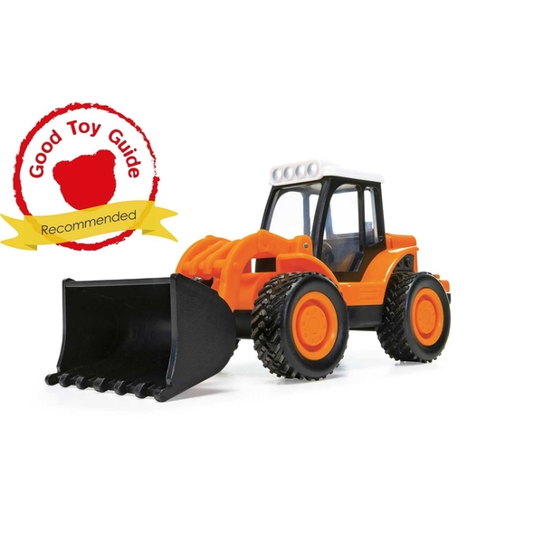 Loader Tractor Construction (Orange) Chunkies Corgi Diecast Toy