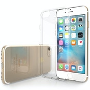 YouSave Accessories iPhone 7 Ultra Thin Gel Case - Clear