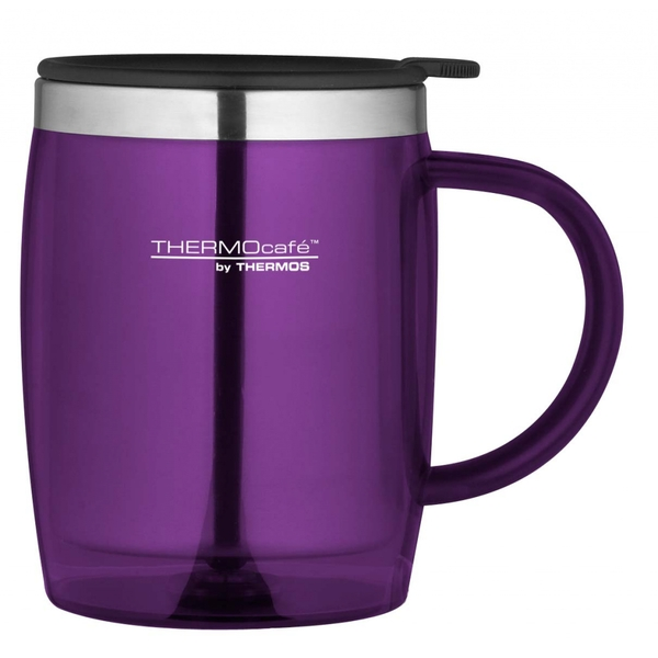 ThermoCaf by Thermos Desk Mug 450ml Purple
