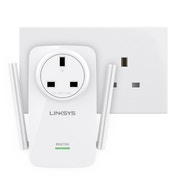 Linksys RE6700 AMPLIFY Universal Dual Band Wi-Fi Range Extender with Music Streaming UK Plug