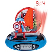 Lexibook RP500AV Avengers Projector Alarm Clock with Radio