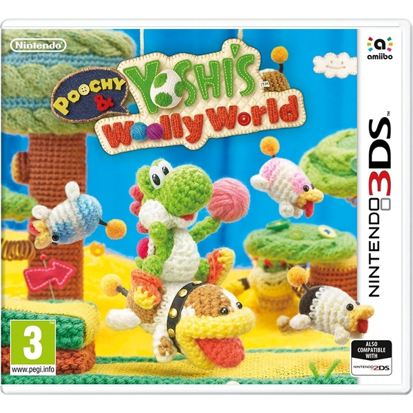 Poochy & Yoshi's Woolly World 3DS Game