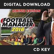 Football Manager 2016 Limited Edition PC CD Key Download for Steam