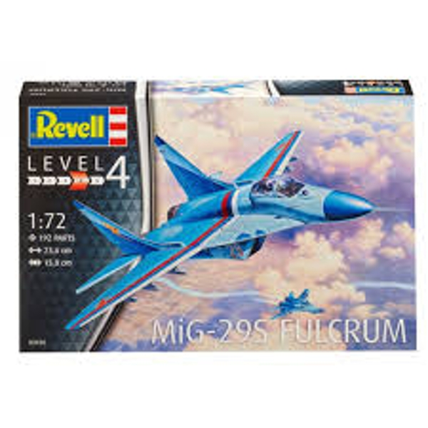 MiG-29S Fulcrum 1:72 Revell Model Kit