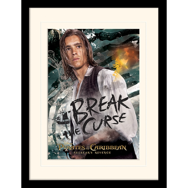Pirates of the Caribbean - Break The Curse Mounted & Framed