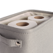 Large Cotton Toilet Paper Storage Box | M&W - Image 5