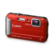 Panasonic Lumix DMC-FT30EB-R Waterproof Action Camera Red 16 MP 4x Optical Zoom