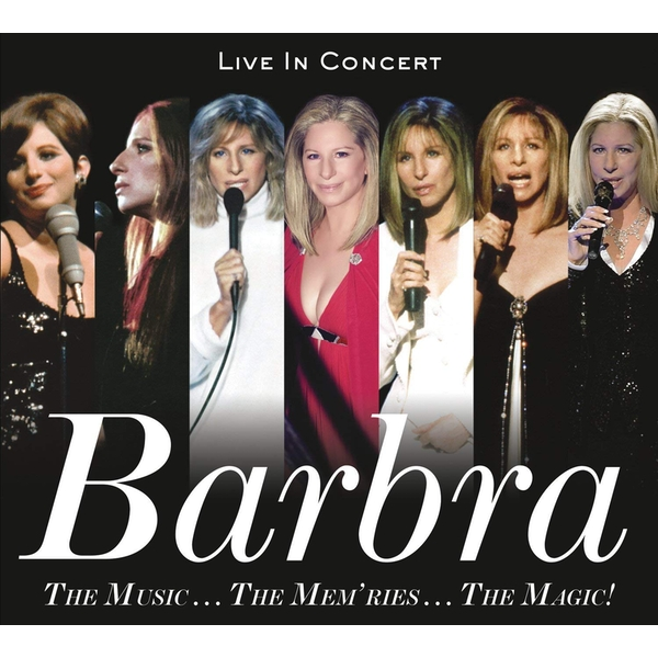 Barbra Streisand - The Music...The Mem'Ries...The Magic! CD