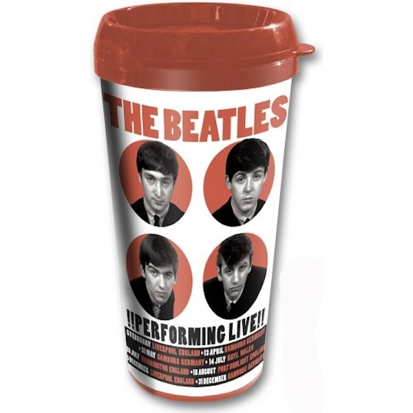 The Beatles - 1962 Performing Live Travel Mug