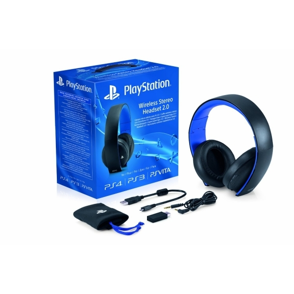 PS4 Official Sony PlayStation Wireless Stereo Headset 2.0 - Image 4