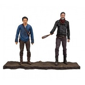 Walking Dead TV Negan and Glenn 5 inch Action Figure 2 Pack