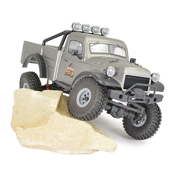 Ftx Outback Mini X Texan 1:18 Trail Ready-To-Run Grey