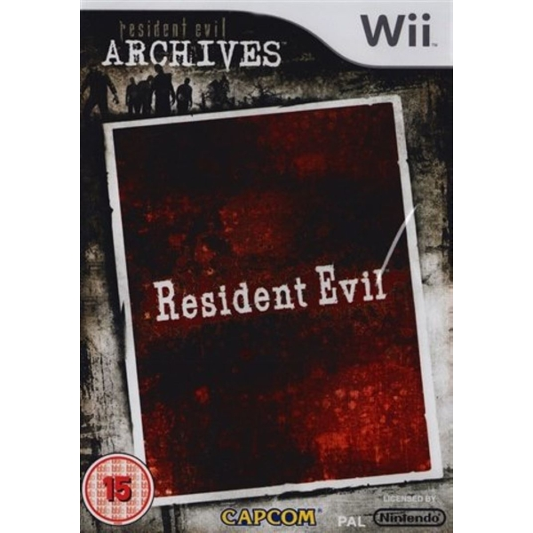Resident Evil Archives Game Wii [Used]