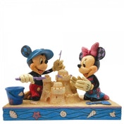 Seaside Sweethearts Mickey & Minnie Mouse Disney Traditions Figurine