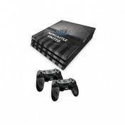 Official Newcastle United FC PS4 Pro Console Skin and 2x Controller Skin Combo Pack