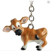 Little Paws Key Ring Jersey Cow