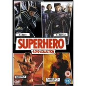 Superhero: X-Men / X-Men 2 / Elektra / Daredevil DVD