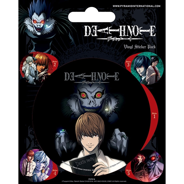 Death Note Vinyl Sticker