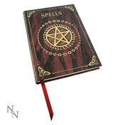Embossed Spell Book Red