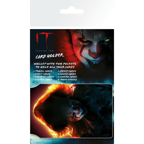 IT Chapter 2 Pennywise Oyster Wallet Travel Holder ID Card Holder