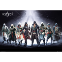 Assassins Creed Characters 24 x 36 Inches Maxi Poster