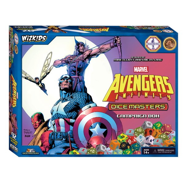 Marvel Avengers Infinity Campaign Box: Marvel Dice Masters Board Game