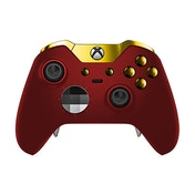Red Velvet & Gold Edition Xbox One Elite Controller