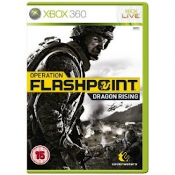 Ex-Display Operation Flashpoint Dragon Rising Game Xbox 360 Used - Like New