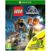 Lego Jurassic World Toy Edition Xbox One Game (with Gallimimus Dinosaur)