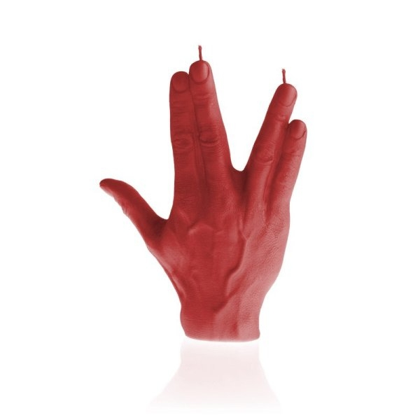 Red Hand SPCK Candle