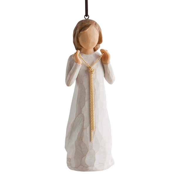 Surrounded by Love (Willow Tree) Hanging Ornament