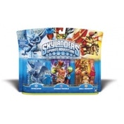 Whirlwind, Double Trouble, and Drill Sergeant (Skylanders Spyro's Adventure) Triple Character Pack Used - Like New
