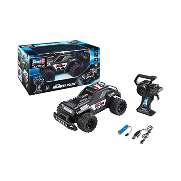 RC Buggy Highway Police Revell Control