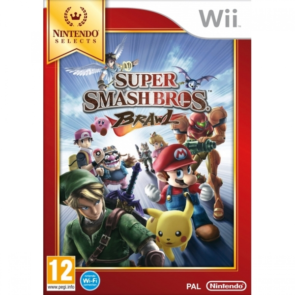 Ex-Display Super Smash Bros Brawl (Selects) Game Wii