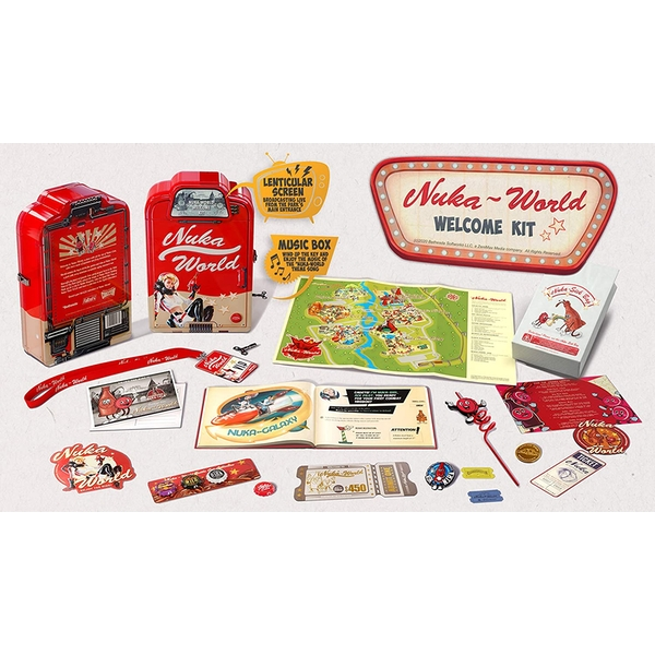 Doctor Collector Fallout Nuka World Welcome Kit
