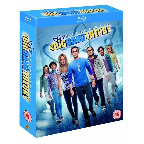 The Big Bang Theory Season 1-6 Blu-ray